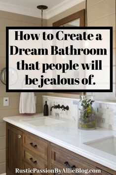 Farmhouse Rest room Concepts These 5 steps will assist you to create a beautiful lavatory affordably Bathroom Layout, Bathroom Interior, Bathroom Ideas, 50s Bathroom, Bathroom Designs, Lowes Bathroom, Bathroom Niche, Bathtub Ideas, Bathtub Decor