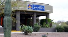 Best Western InnSuites Phoenix Hotel & Suites Phoenix This hotel is 9 miles from downtown Phoenix and 3 miles from the Phoenix Mountains Park. This hotel features an outdoor pool and offers free Wi-Fi in every room.