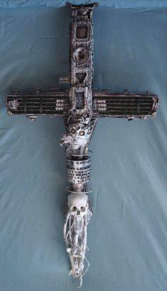 found object cross