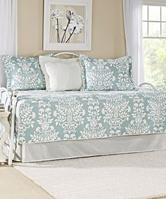 Love this Blue Rowland Daybed Set by Laura Ashley Home on #zulily! #zulilyfinds