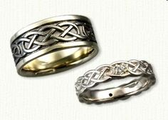 Celtic Murphy Knot Wedding Rings @ affordable prices online!
