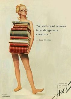 Yeah, but a college degree won't wake up one day and tell you it doesn't love you anymore and is screwing the nanny. I Love Books, Good Books, Books To Read, My Books, Groucho Marx, Vintage Humor, Funny Magnets, Feminism Quotes, Book Nerd