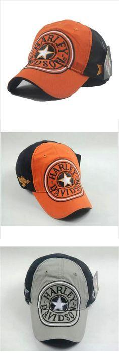 b6276c2741c 2016 New 100% Cotton Sportster Harley Dayidson Caps MOTOGP Racing Cap  Motorcycle Cap Baseball Cap
