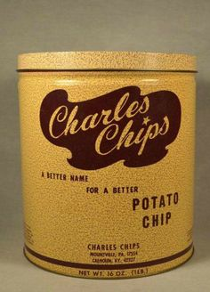 Charles Chips- especially the green ones.