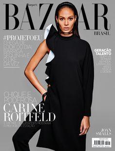 awesome Harper\'s Bazaar Brasil | Capa Março 2013 | Joan Smalls por Kacper Kasprzyk