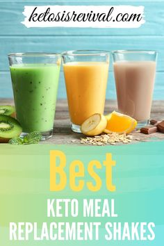 These easy Keto meal replacement shakes are a great alternative to food if you don't have enough time to prepare meals on your low-carb diet. Many meal replacements are in shake form  which you can prepare at home and there are also store-bought keto replacement shakes. Click on this pin to know more! #ketomealreplacement #ketomealreplacementshake Side Dishes For Chicken, Keto Side Dishes, Keto Meal Replacement, Best Keto Meals, Meal Replacements, Low Carb Diet, Vegetable Dishes, Food Preparation, Low Carb Recipes