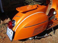 Orange Vespa VLB, a few more photos by digitaldion, via Flickr