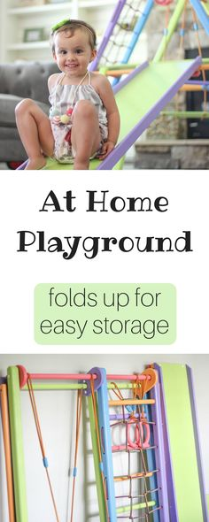 At Home Playground | Folds Up for Easy Storage | Panda Playground | Indoor Playground | Inside Play Space | Busy Little Izzy | Play area of toddler | Young Kids Play Space