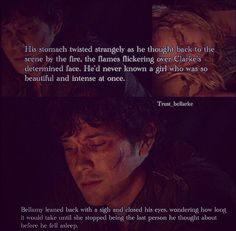 scene from the show, words from thee book.....da feels!!!!