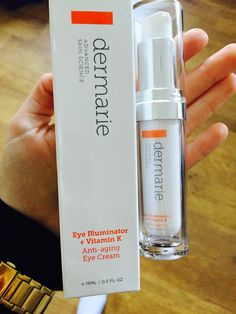 """Anna features Dermarie's Eye Illuminator + Vitamin K on her blog BeautyObsessed. """"The products are developed and manufactured in the US laboratories, using the latest technologies as well as the most valuable ingredients. """" http://aniaaniapawlak.blogspot.co.uk/2015/03/dermarie-eye-illuminator-vitamin-k.html?m=1"""