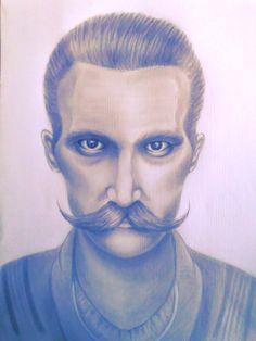 #Pomatum #mustache