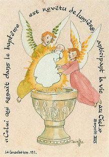 Monastère de La Consolation » Images de Baptême