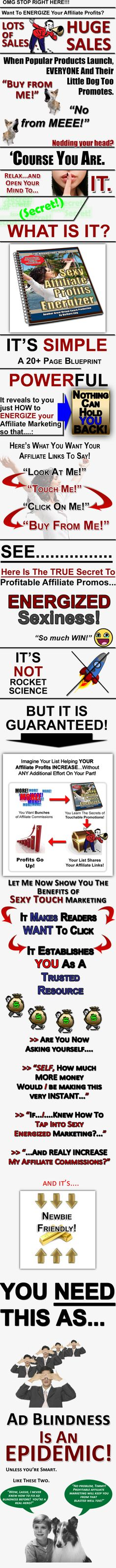 JUST RELEASED!  [HOT] BarbLing's SEXY Affiliate Profits Energizer: Earn More Commissions Than Trading Tim Tebow!
