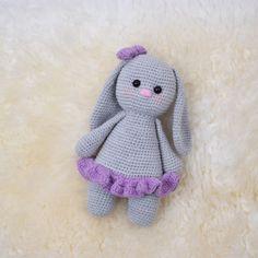 Crochet Amigurumi, Knit Or Crochet, Crochet For Kids, Amigurumi Doll, Crochet Hooks, Chrochet, Baby Bunnies, Bunny, Baby Patterns