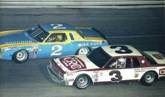 Richard Childress and Dale Sr. Nascar Autos, Nascar Race Cars, Old Race Cars, Dale Earnhardt Crash, Dale Earnhardt Chevrolet, Cool Car Pictures, Car Pics, Flat Track Racing, The Intimidator