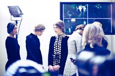 Behind the scenes at Paris couture