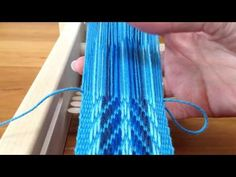 Pick up weaving. Shoulder strap for Mochila bag / Pick up weven. Schouderband voor Mochila tas. - YouTube