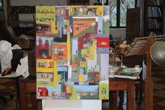 Welcome to the miniature world of Darren Aiken South Africa, Miniatures, Concept, Watercolor, Ink, Sculpture, World, Artwork, Painting