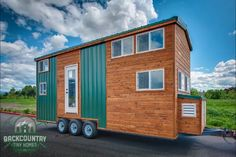 Juniper Tiny House Packs Tons of Storage in less than 300 Square Feet
