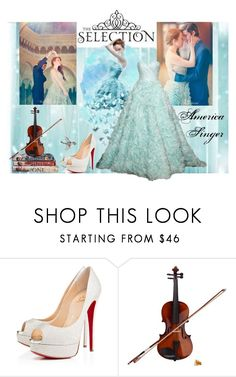 America Singer Outfit - The Selection Series by hemmo1drauhl on Polyvore featuring moda, Christian Louboutin and Rosin