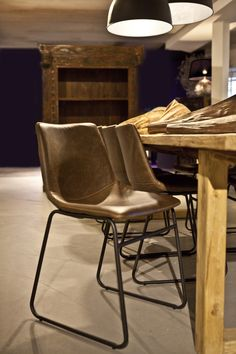 By Boo Eetkamerstoel Logan bruin Play Houses, Interior Styling, Teak, Dining Chairs, House Styles, Brown, Furniture, Home Decor, Juni