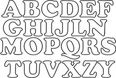 moldes-de-letras-para-imprimir-alfabeto-completo : Revista Artesanato