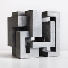 David Umemoto - Cubic Geometry ix-v Concrete Sculpture, Concrete Art, Modern Sculpture, Abstract Sculpture, Cubic Architecture, Concept Architecture, Architecture Design, Architecture Sketchbook, 3d Modelle