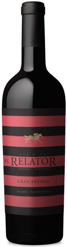 """""""El Relator Gran Premio Blend""""  50% Malbec / 50% Tempranillo 2013 - Relator Wines, Mendoza----------Terroir: La Consulta (San Carlos)-------------Crianza: 9 meses en barricas de roble frances, 10% nuevas"""
