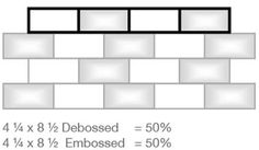 Brick Tile Pattern - #Interceramic USA