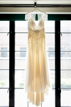 Photography : Brookelyn Photography - The Wedding Artists Collective | Wedding Dress : Jenny Packham Read More on SMP: http://www.stylemepretty.com/new-york-weddings/new-york-city/2014/10/28/rustic-romance-in-new-york-city-at-bowery-hotel-wedding/
