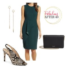 Green Dress Outfit Ideas Pictures 3 fab outfit ideas for fall 2019 Green Dress Outfit Ideas. Here is Green Dress Outfit Ideas Pictures for you. Green Dress Outfit Ideas green dresses emerald khaki macys simplistic 9 a. Over 50 Womens Fashion, Fashion Over 50, Fall Fashion Trends, Autumn Fashion, Green Dress Outfit, Cute Dresses, Dresses For Work, Green Summer Dresses, Fall Outfits