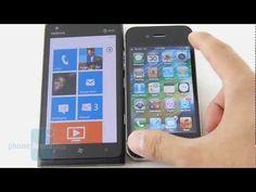 Nokia Lumia 900 vs Apple iPhone 4S