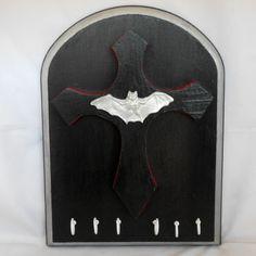 "Key Rack - Gothic Decor - Jewelry Rack - Vampire Bat (via this Etsy Store, ""Nacreous Alchemy"")"