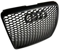 2008 2010 Facelift Audi A6 C6 Mesh Sport Grill Grille RS6 Look Black Badge   eBay