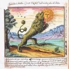 ACHAMAN GUAÑOC: Alquimia: El León Verde Devorando El Sol