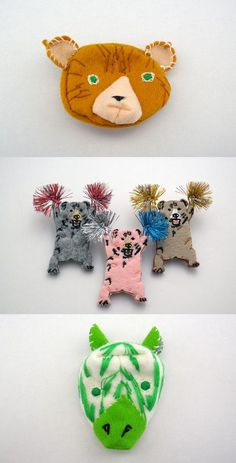 Knuffels à la carte blog: Brooches (day 2) Pokefasu
