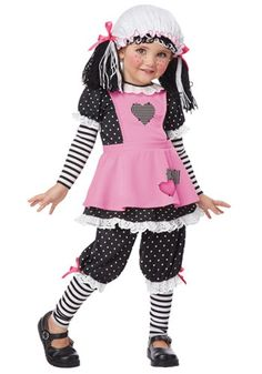 Brand New Rag Dolly Doll Raggedy Ann Toddler Halloween Costume Costumes For Teens, Toddler Costumes, Cute Costumes, Girl Costumes, Costume Ideas, Dance Costumes, 1950s Costumes, Female Costumes, Children Costumes