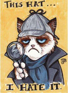 Grumpy Cat Fan Art #GrumpyCat