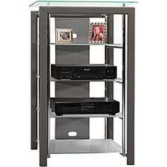 @Overstock - The Platinum Mist Audio Tower is an audiophile's dream. The unit features five tempered glass shelves that rest on vibration-dampening pads to protect your sound quality and a rear access through the back panel makes wire management a snap.  http://www.overstock.com/Home-Garden/Bush-Furniture-Platinum-Mist-Audio-Tower/6167149/product.html?CID=214117 $162.99