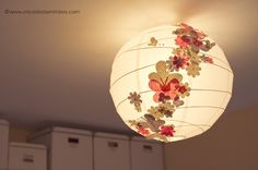 Mi cesta de mimbre: DIY: Lámpara handmade para el estudio de Marta Schmidt Fotografía.