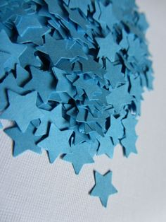 Wedding confetti Stars confetti Blue Wedding star confetti blue stars