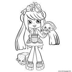 Print cute shopkins shoppies season 5 coloring pages