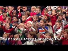 Little Girl Signs For Her Deaf Parents at Kindergarten Holiday Concert