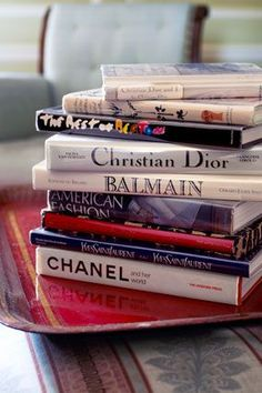 The woman who got America reading... here are some of Oprah Winfrey's fashion books.