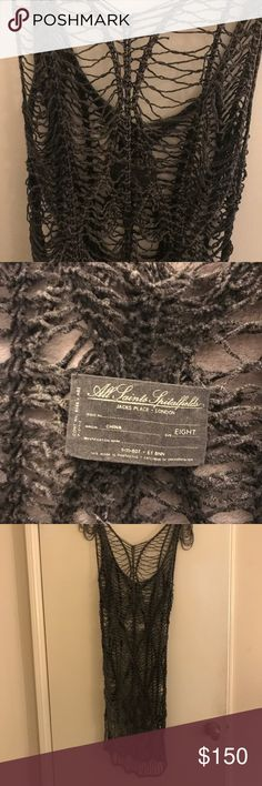 All Saints Net Dress Size 4 Midi length. This dress is amazing! Doesn't fit me anymore which is why I'm selling. Only wore it a few times. In perfect condition! UK 8 US 4 All Saints Dresses Midi
