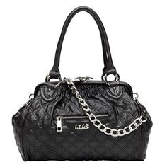 Paris Quilted Framed Tote   Handbags   Kate Hill