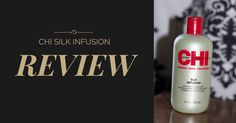 Check out my review of CHI Silk Infusion! http://www.notanothercovergirl.com/review-chi-silk-infusion/