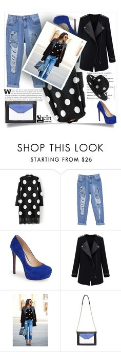 """Shein 4 (IV)"" by aida-banjic ❤ liked on Polyvore featuring Jessica Simpson, Kate Spade and shein"