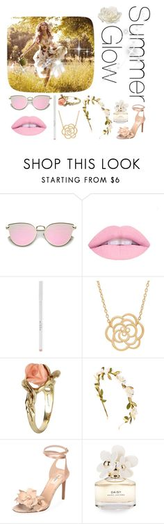 """""""SUMMER GIOW"""" by kerenaltar ❤ liked on Polyvore featuring Lord & Taylor, Vintage, Valentino, Marc Jacobs and Allstate Floral"""