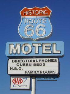 along route 66 -